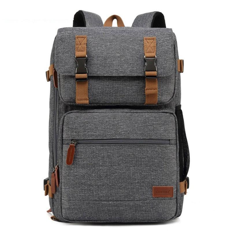 17.3 Inch Backpack Convertible Shoulder Bag Men Women Laptop Business Multifunctional Backpacks Large Capacity Backpack D0319