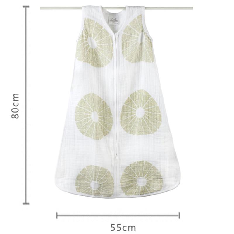 100-Muslin-Cotton-Aden-Anais-Baby-Thin-Sleeping-Bag-For-Summer-Bedding-Baby-Saco-De-Dormir-Para-Bebe-Sacks-Sleepsacks-12-18M-5