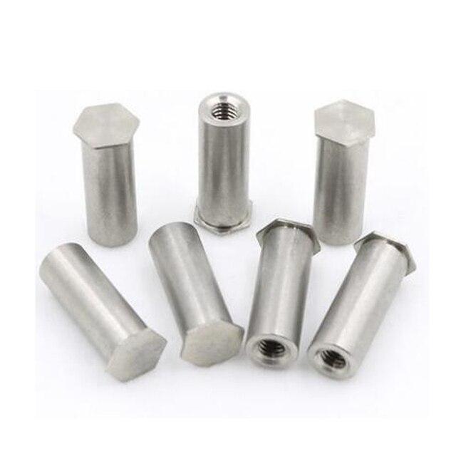 50Pcs M2 M2.5 M3 M4 M5 M6 PEM Nuts Blind Hole Standoff Stainless Steel 304