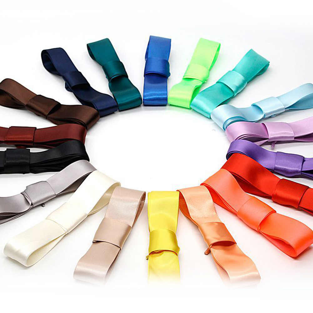 1 คู่ 3 ซม.กว้างต่างๆแบนริบบิ้นซาติน Laces shoelaces แบนซาตินริบบิ้นเด็กเด็ก Shoelaces รองเท้า Laces
