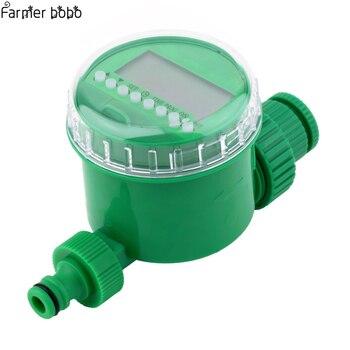 Lcd ekran otomatik akıllı elektronik bahçe su zamanlayıcı kauçuk sulama Sprinkler kontrol conta tasarım sulama zamanlayıcı water timer garden water timerwatering timer -