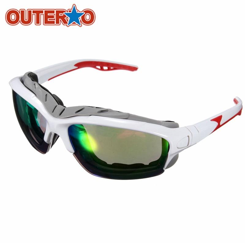 Outerdo new unisex sport mtb mountain bike gafas de sol gafas ciclismo bicicleta
