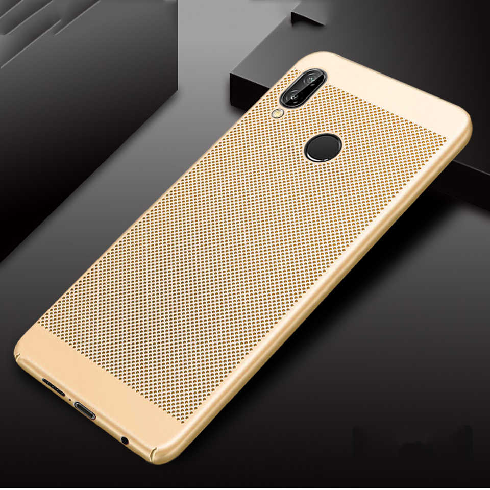 Heat Dissipation Plastic Case For Huawei P20 P10 P9 P8 Lite 2017 Mate 20 10 9 Nova 3 Cover Hard Phone Cases Honor 8 8X 7X 7A 7C
