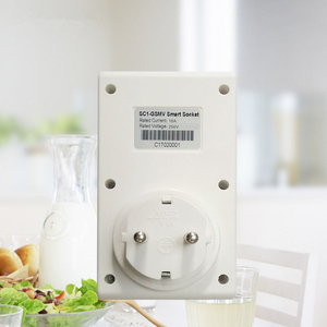 Image 2 - 16A 250VAC Drahtlose Fernbedienung Home Appliance Automation GSM Smart Telefon Steckdose Timer Schalter Wand Stecker