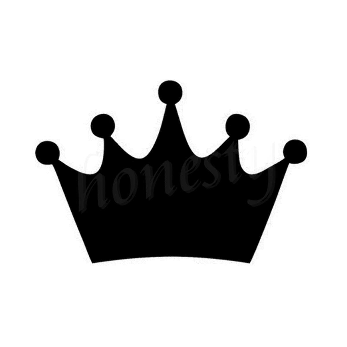Kings Crown Racing Jdm Vinyl Car Decal Die Cut Sticker