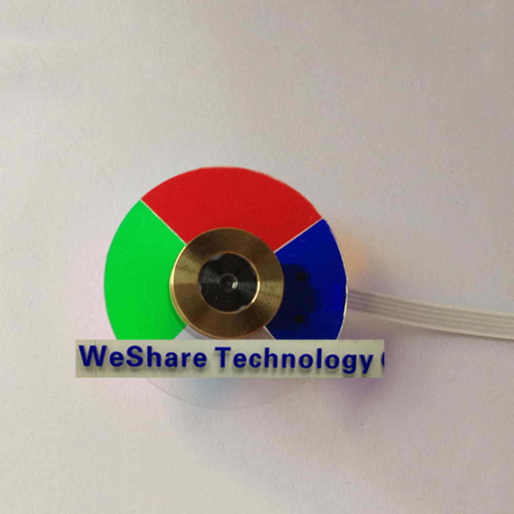 ФОТО NEW Home Projector Color Wheel for Optoma EP750 Repair Replacement fitting
