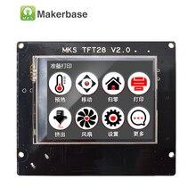 3d печать сенсорный экран RepRap контроллер панели МКС TFT28 V1.2 дисплей цветной TFT поддержка/WI-FI/ПРИЛОЖЕНИЕ/отключения экономия на местных языках