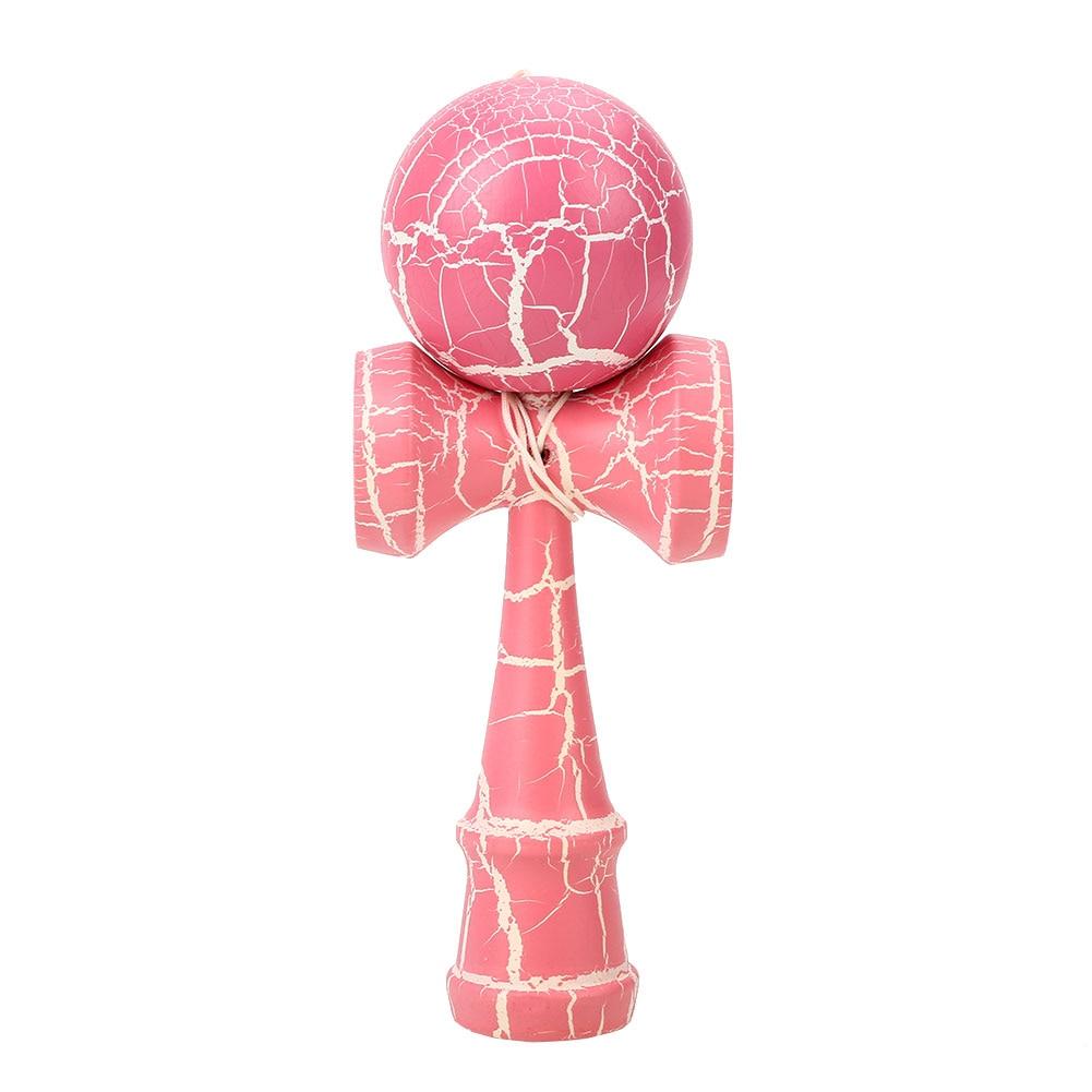 Красочные мастерство мяч костюм рефлексы игрушка кендама для японских Прямая - Цвет: Powdered white