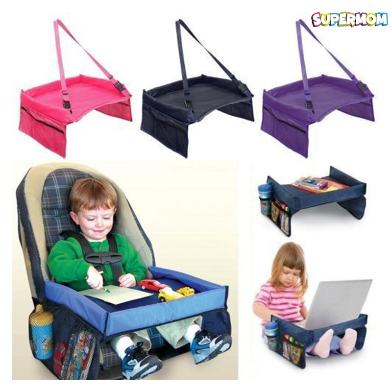 Baby Car Table Writing Flat Tray Board Portable Kid Toy