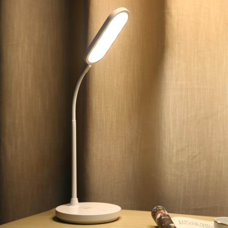 все цены на YAGE Led Table Lamp 1200mAh Battery USB Desk Lamp Stepless Dimming Touch Desk Light Hose Table Light Night Light Lampe YG-T405 онлайн