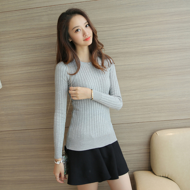 Women Sweater High Elastic Solid Turtleneck 2017 Fall Winter Fashion Sweater Women Slim Sexy Hight Bottoming Knitted Pullovers