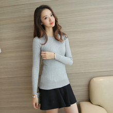 Autumn Stylish O-Neck Knitted Pullover