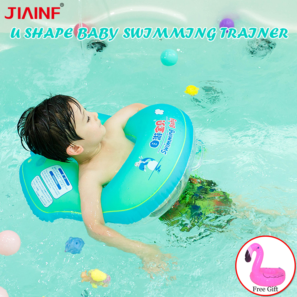 Baby Swimming Ring Inflatable Infant Armpit Floating Kids U-shaped Accessories Bathing Inflatable S Toy