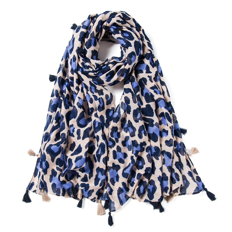 Brand New Fashion Viscose Scarf Fashion Winter Women Scarves Thick Long Size Leopard Dot Female Shawls And Wraps Bandana Hijab