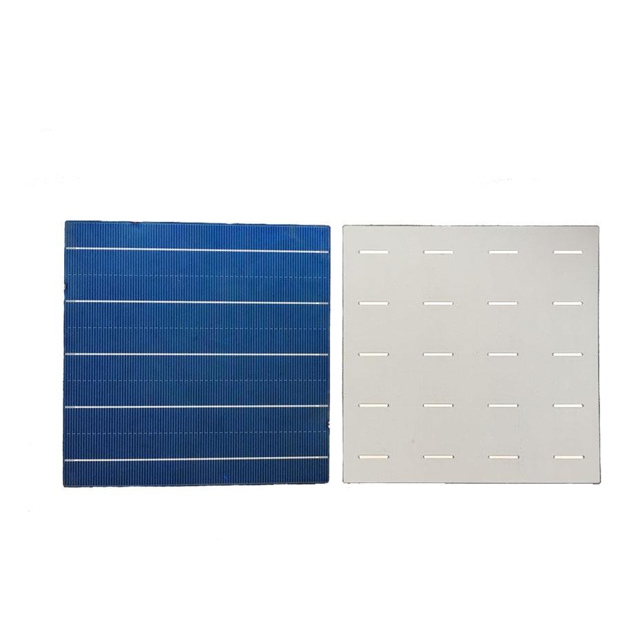 Image 3 - 20 шт. 5BB Фотоэлектрические поликристаллические солнечные батареи для зарядки 4,5 Вт 156,75*156,75 мм 6x6 солнечная батарея своими руками/зарядное устройство для электроники-in Солнечные батареи from Бытовая электроника