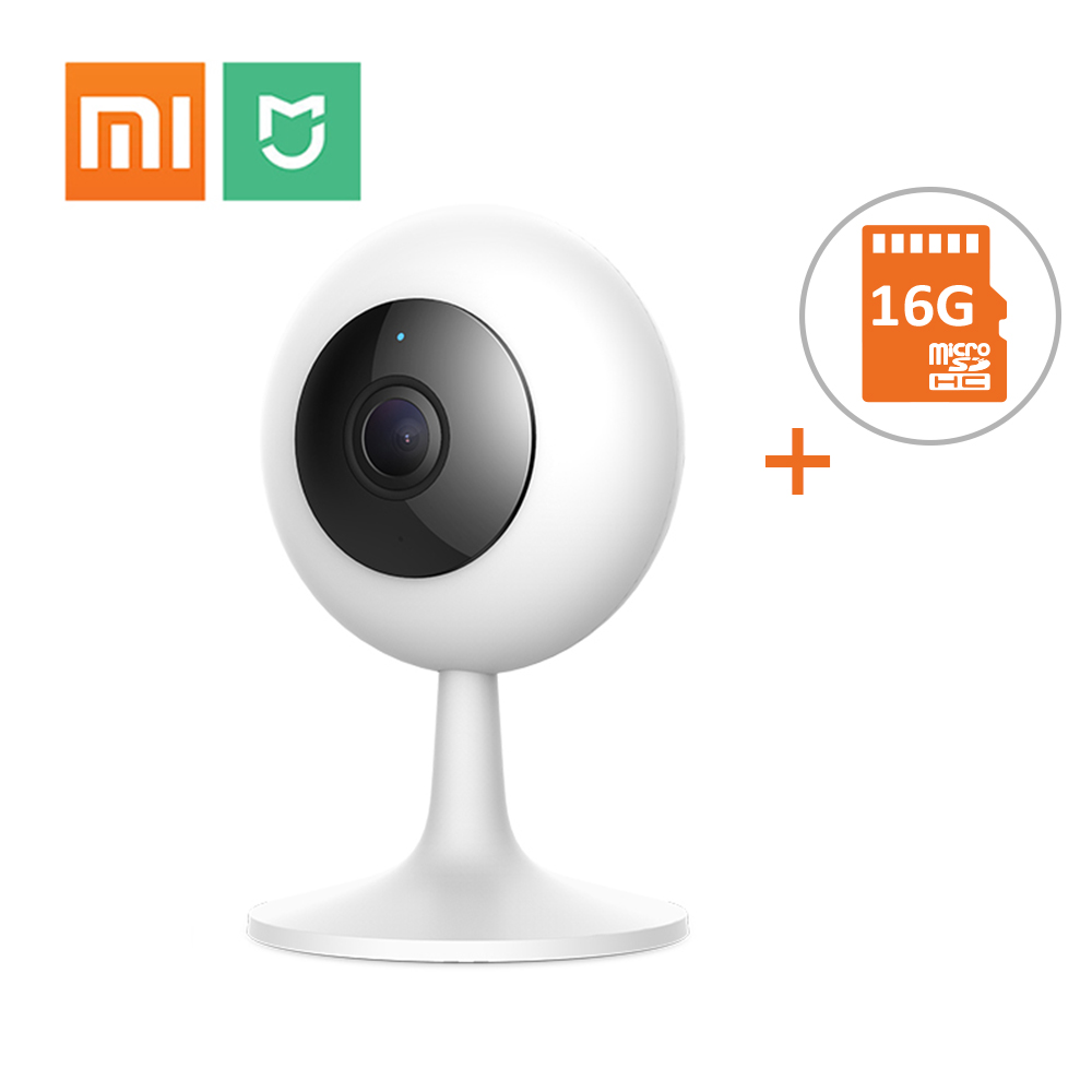 Xiaomi WiFi IP Camera Two-Way Audio 720P APP Remote CCTV Surveillance Camara Baby Monitor Nanny Mi Cameras With 16G TF CardXiaomi WiFi IP Camera Two-Way Audio 720P APP Remote CCTV Surveillance Camara Baby Monitor Nanny Mi Cameras With 16G TF Card