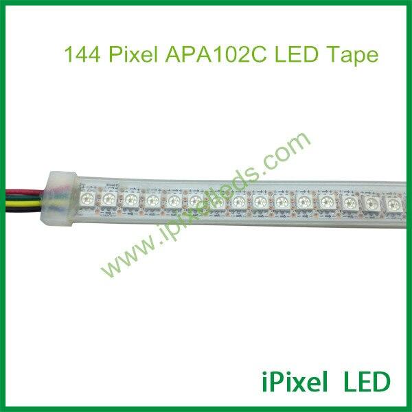 Addressable led strip apa102 apa102c flexible led pixel lighting 144 pixels addressable 3d smart pixel ball dc24v