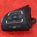 Original OEM Pair Multi-Function Steering Wheel Button For Jetta Golf MK6 EOS Caddy Touran CC 5C0 959 537 A 5C0959537A