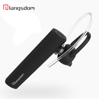 Langsdom K10 Business Wireless Bluetooth Earphone 4 1 Chip Headset Standby Time Long Distance Reception Signal