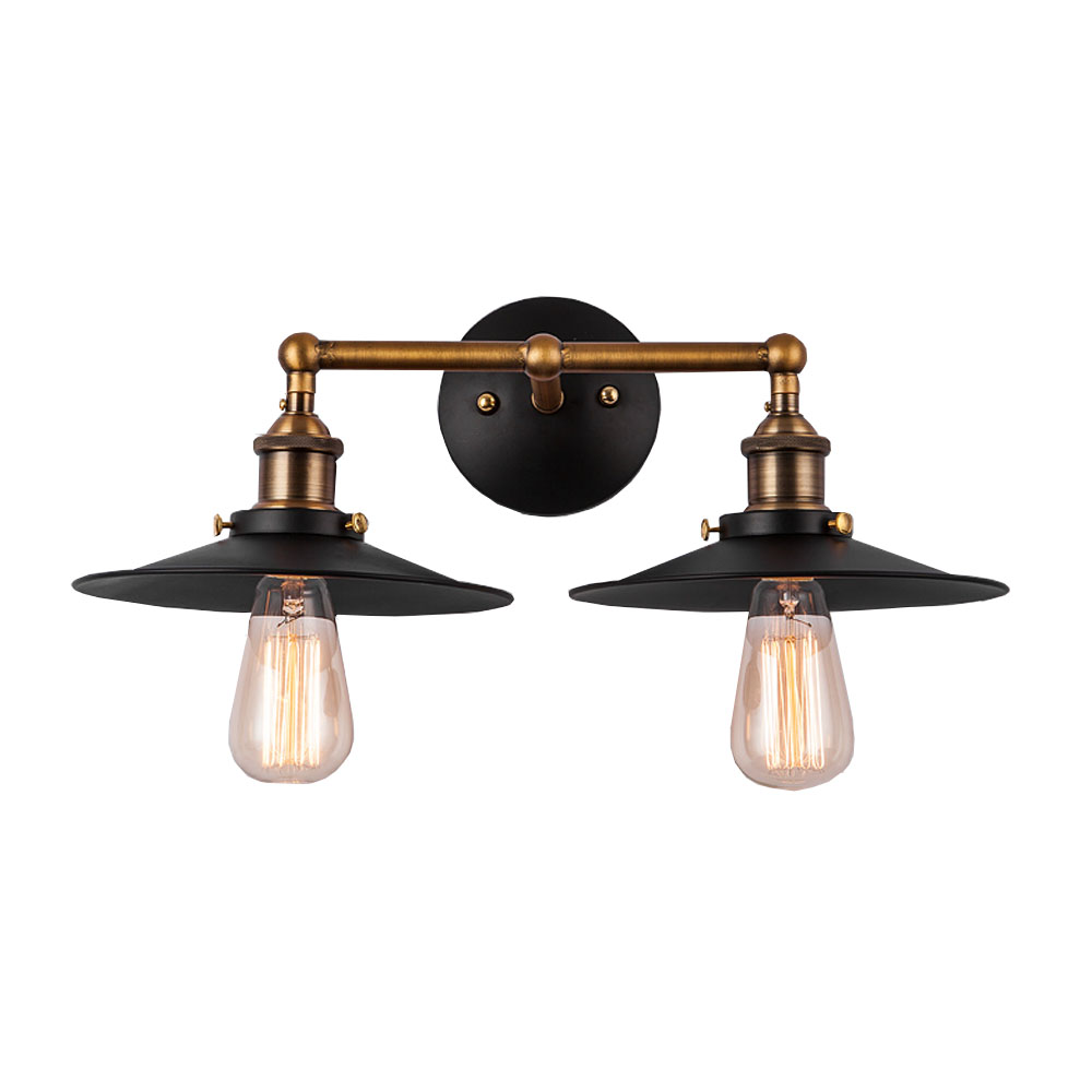 ФОТО American Classic Retro Style Wall-mounted Installation Bathroom Light Living Room Attic Stairway Aisle Eye Protection