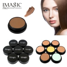 IMAGIC Foundation cream powder In Makeup Pressed Face Concealer Natural Mineral Cosmetics Beauty Concealer cream