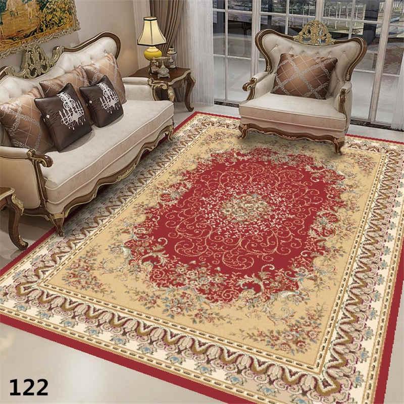 Iranian Persian Grande Tapete Quarto Tapete Da Sala de estar Decoração Da Casa Do Vintage Clássico Tapete Personalizado Tapete Tapetes de Mesa de Café