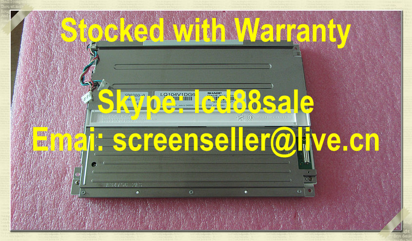 best price and quality original   LQ104V1DG61  industrial LCD Display