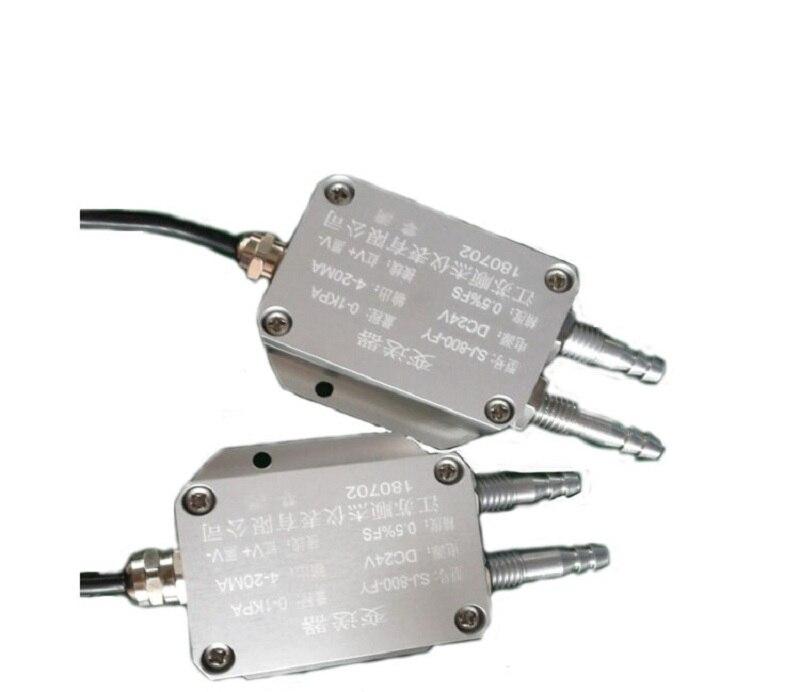 Transmetteur de pression d'air à pression différentielle sortie de Signal 4-20ma 0-1KPA