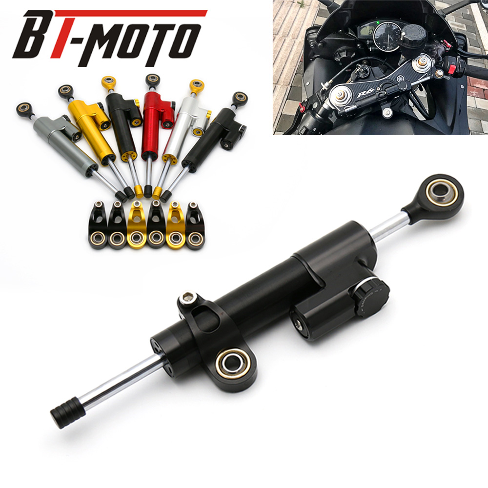 Motorcycle Damper Stabilizer Damper Steering Reversed Safety Control For Aprilia TUONO R V4R Factory V4 R MANA 850 RS 125 250