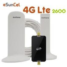 Shunhans 4G LTE Repeater LTE 2600 Ban Nhạc 7 Kích Sóng Điện Thoại Di Động LTE ĐTDĐ Tế Bào Khuếch Đại Ăng Ten Bộ AGC 4G Tăng Áp