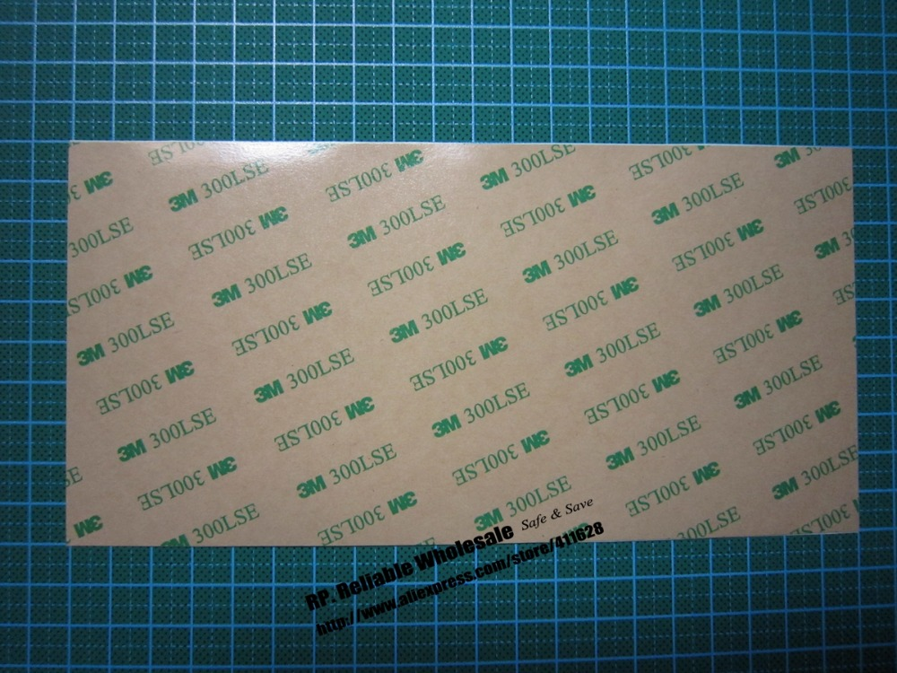 6x (100mm*200mm) Wide Use Super Strong Adhesion Two Sides Sticky Sticker for iphone ipad Touch Screen Frame LCD 3M 9495LE 300LSE 120pcs 2mm 10cm super strong 3m pet double sided adhesive sticker for iphone ipad huawei cellphone touch screen lcd frame fix
