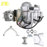 ATV Parts Professional Semi Auto 125cc Motor Engine For ATV QUAD Go Kart Pitbike 110cc 125cc 3 Forward 1 Reverse