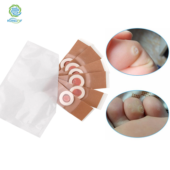 KONGDY 6 Pieces/Bag Medical Foot Corn Remover Patch to Remove Feet Fungus and Relieve Toe Friction and Pressure Health Care