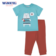 Пижама WINKIKI ясельная (футболка, брюки)