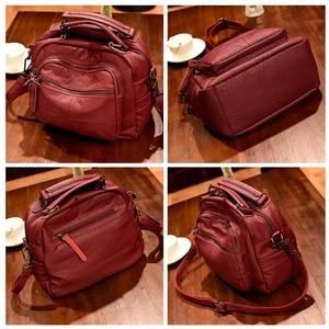 Image 3 - 2019 Luxury Handbags Women Bags Designer Soft Leather Bag High Quality Shoulder Crossbody Bag Women Casual Tote Bags Sac a Main