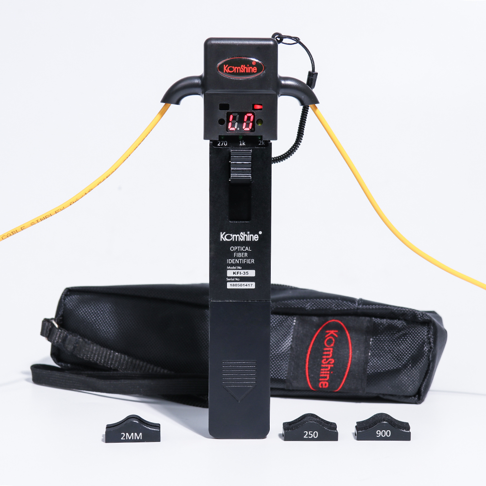 Promotion Komshine KFI 35 Optical Fiber Identifier 800 1700nm Live Fiber Identifier Detector Identificador de Fibra