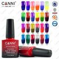 CANNI 7.3ml nail gel polish make up changing color with temperature nail gel polish chameleon nail gel UV total 24 colors