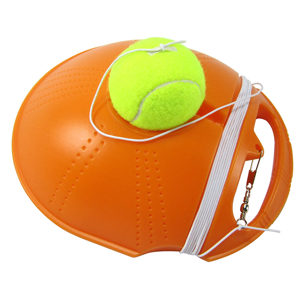 High Singles Tennis Trainer Self-study Training Rebound Balls Baseboard Tools DOG88