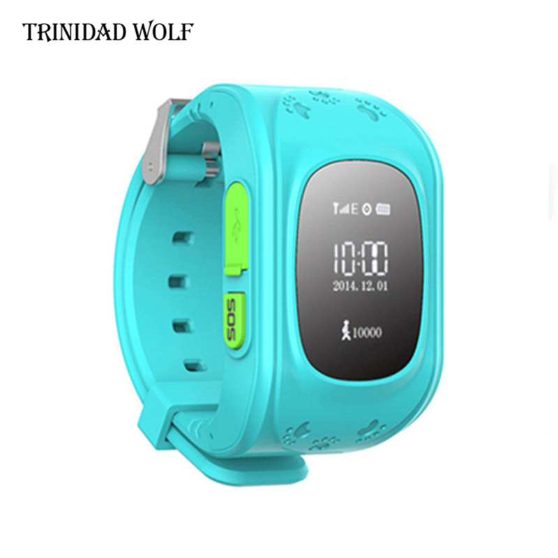 TRINIDAD WOLF Anti Lost Alarm Q50 OLED Child GPS Tracker SOS Smart Monitoring Positioning Phone Kids GPS Watch inserted SIM Card mini gps satellite positioning anti lost child car alarm tracker free installation of the elderly anti lost