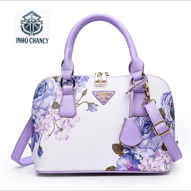 Printed Luxury shell shell package 2017 new women handbag Brand terkenal designer shoulder bag Messenger