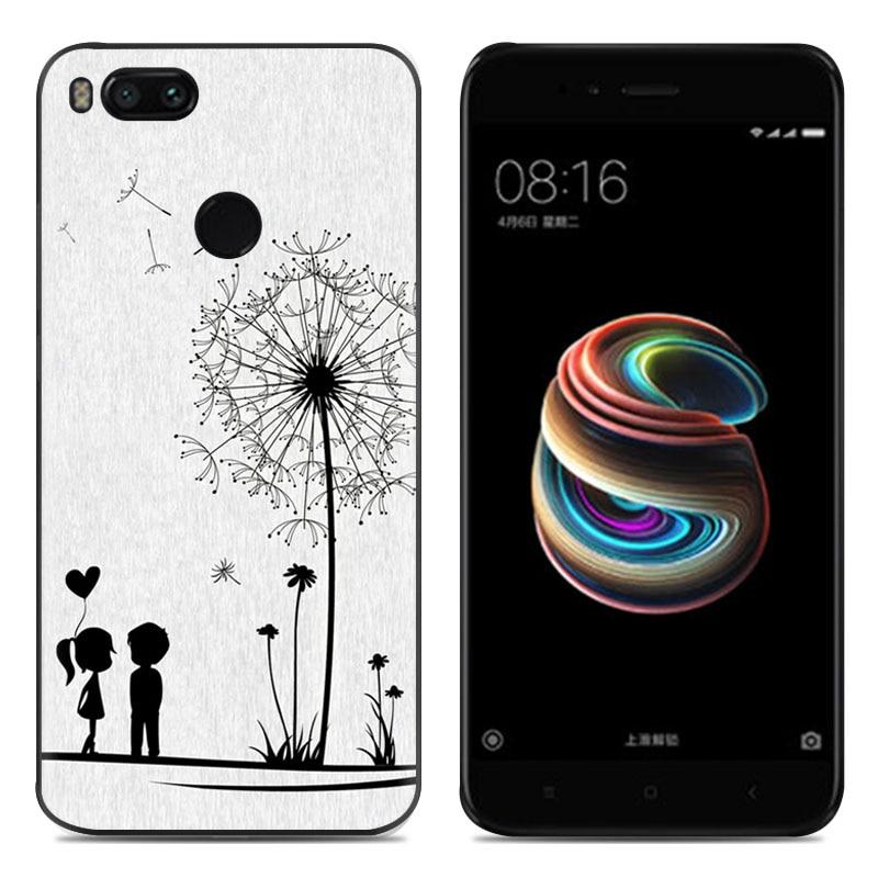 Lulumi Cute Cartoon Phone Case para Xiaomi Mi 5X 5.5-inch Fashion Art - Accesorios y repuestos para celulares - foto 1