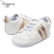 New Arrival Fashional Baby Sport Shoes Classic Shape Baby Boy Girl Leather Shoes For 0-15 Months