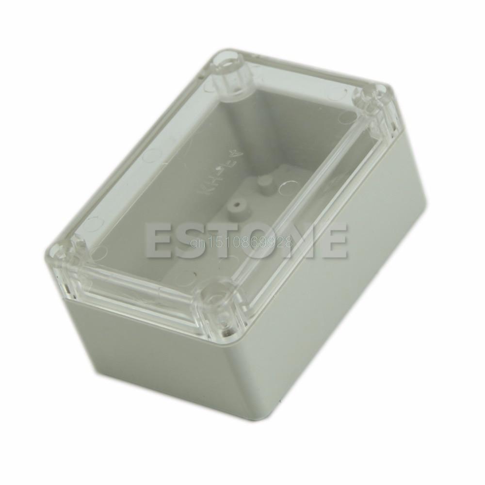 1vnt vandeniui skaidrus dangtis, plastikinis elektroninis projekto - Matavimo prietaisai - Nuotrauka 5