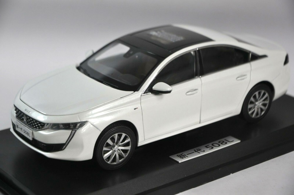 1:18 Diecast Model for Peugeot 508L 508 2019 White Rare Alloy Toy Car Miniature Collection Gifts 1:18 Diecast Model for Peugeot 508L 508 2019 White Rare Alloy Toy Car Miniature Collection Gifts
