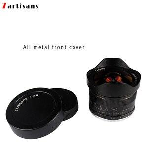 Image 4 - 7 artesanatos 7.5mm f2.8 lentes de peixe, 180 APS C lentes fixas manuais para e montagem canon EOS M mount fuji fx venda quente montagem frete grátis