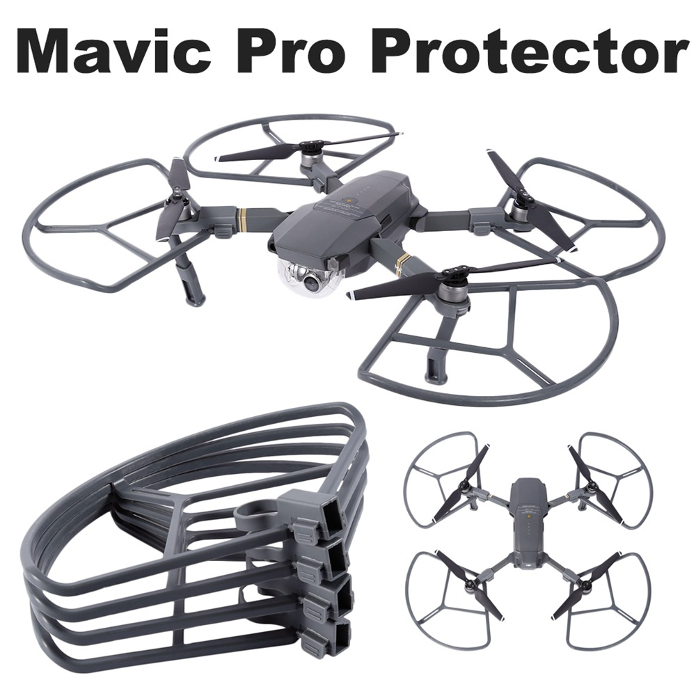 4 stücke DJI Mavic Pro Propeller Protector Schutz Wache Klingen Requisiten Quick Release Stoßstange Abdeckung Schutzhülle Ersatzteile Zubehör