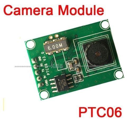PTC06 סידורי JPEG מצלמה מודול CMOS 1/4 אינץ TTL/UART ממשק עבור AVR STM32 וידאו בקרת תמונה