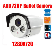 free shipping HD Surveillance 2000TVL Bullet CCTV Camera 1MP AHD Camera 720P Security IR 40M Nightvision Work For AHD DVR