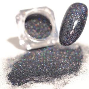Image 3 - Laser Nail Glitter Powder Ultra thin Shining Pink Blue Grey Glitters  Used With UV Gel Polish