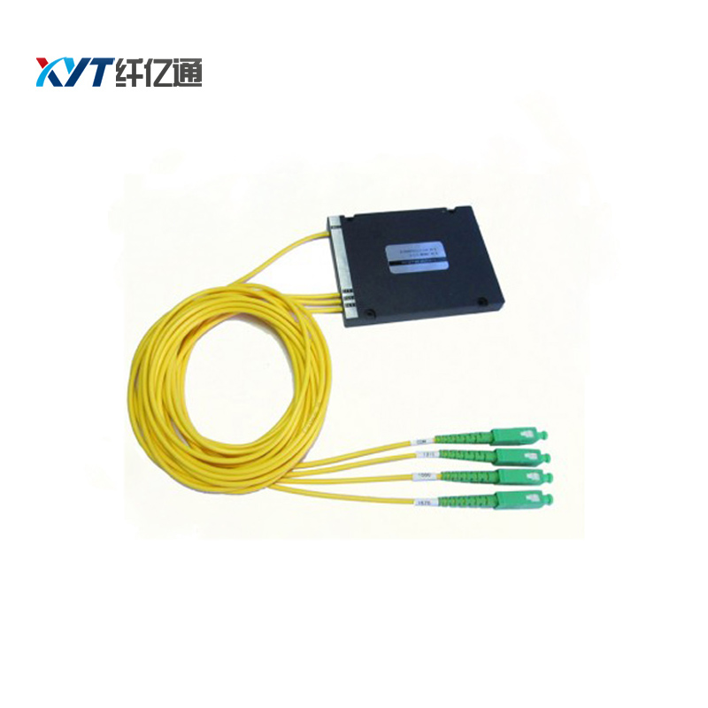 (2 input 8 output) Dual Fiber 4 Channel DWDM Mux Demux Module(2 input 8 output) Dual Fiber 4 Channel DWDM Mux Demux Module